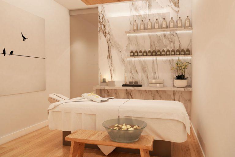 Salón para masajes