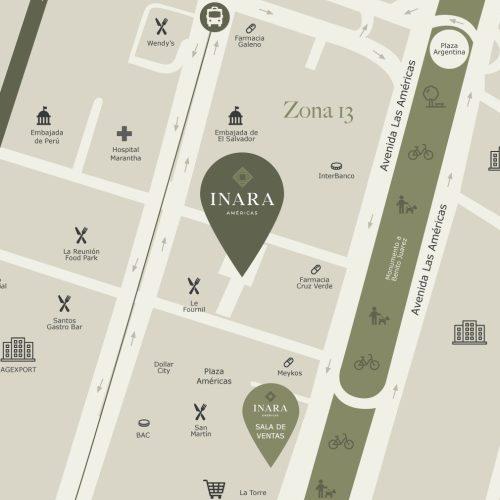 Mapa Inara